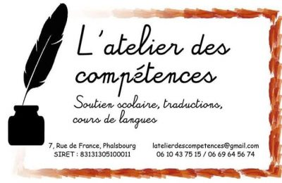 L'atelier des compétences - traduction, soutiens scolaire, cours de langue